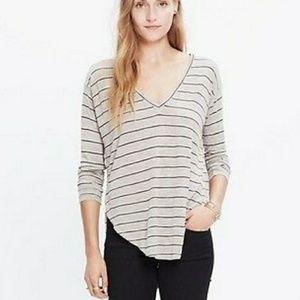 Madewell striped anthem fabric striped long sleeve